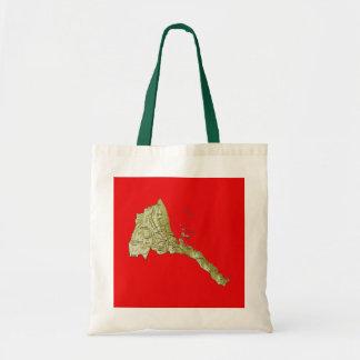 Eritrea Map Bag
