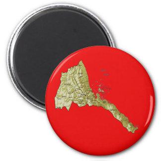 Eritrea Map Magnet