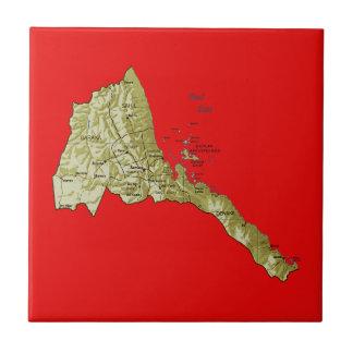 Eritrea Map Tile