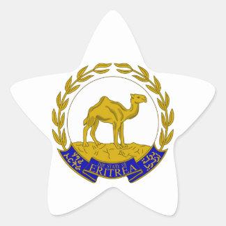 Eritrea Pegatina En Forma De Estrella
