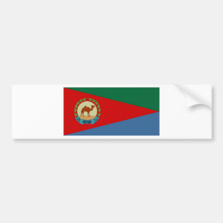 Eritrea President Flag Bumper Sticker