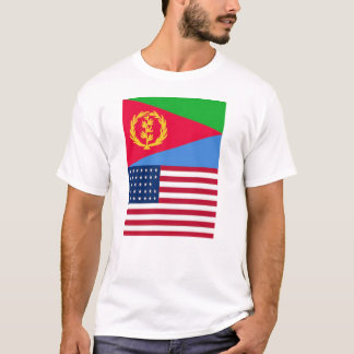 Eritrean American Flag T-Shirt