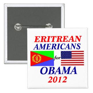Eritrean americans for Obama Button
