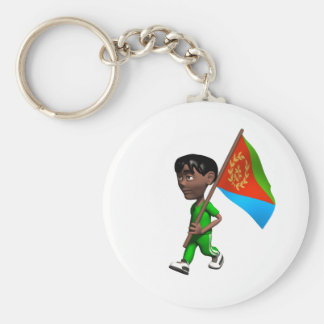 Eritrean Boy Keychain