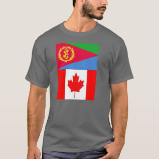 Eritrean Canadian Flag T-Shirt