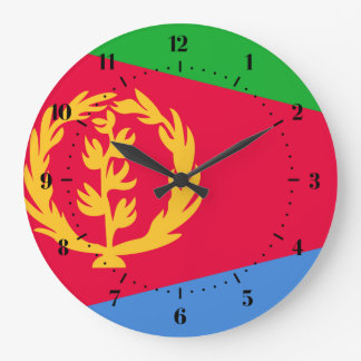 Eritrean flag Clocks