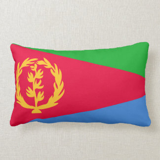 Eritrean flag pillow