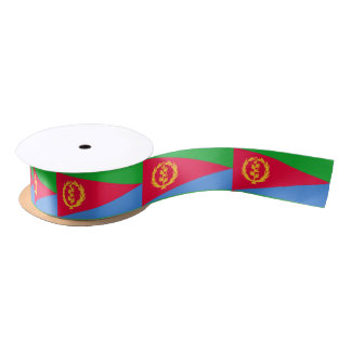Eritrean flag satin ribbon