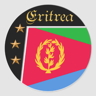 Eritrean flag stickers