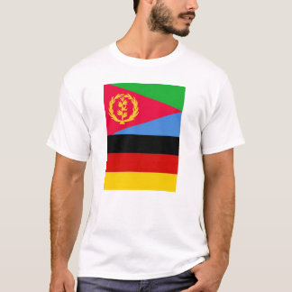 Eritrean German Flag T-Shirt