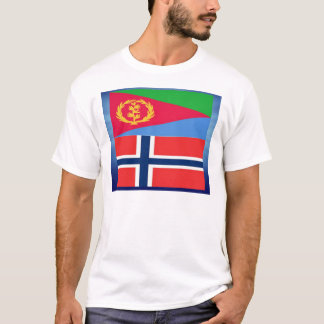 Eritrean norwegian Flag T-Shirt