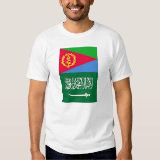 Eritrean Saudi Arabian Flag T-Shirt