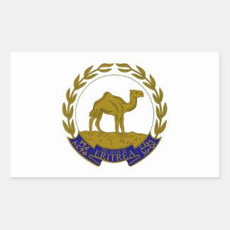 Eritria Coat of Arms Rectangular Sticker