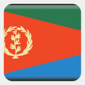 Eritria Flag Square Sticker