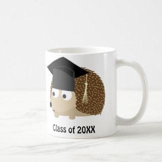 Erizo 20XX graduado Taza Básica Blanca