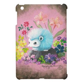 Erizo azul iPad mini cárcasas