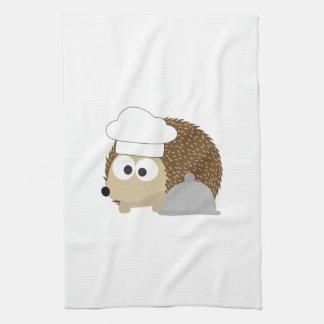 Erizo del cocinero toalla
