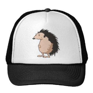 Erizo del dibujo animado gorra