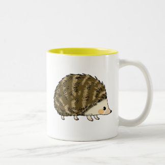 Erizo lindo tazas de café