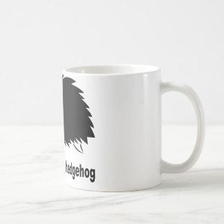 Erizo - respete el erizo taza de café