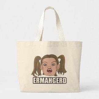 Ermahgerd Tote Bag