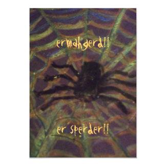 ERMAHGERD! ER SPERDER! 5X7 PAPER INVITATION CARD
