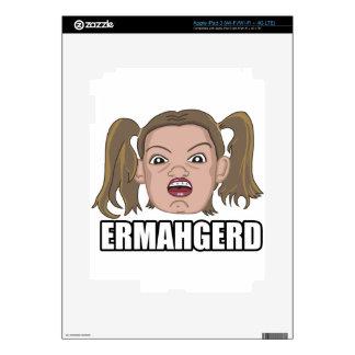 ERMAHGERD iPad 3 SKIN