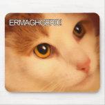 Ermahgerd Orange Cat Mousepad