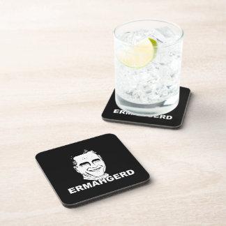 ERMAHGERD ROMNEY.png Drink Coaster