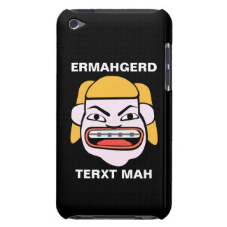 Ermahgerd Terxt Mah iPod Touch Case
