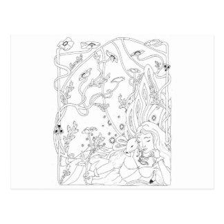 Ermine Fairy Postcard