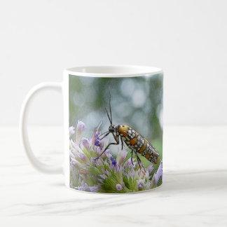 Ermine Moth on Agastache Coffee Mug