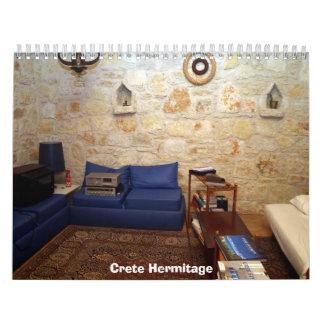 Ermita de Creta Calendarios De Pared