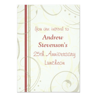 Ermployee Anniversary Luncheon Invitations