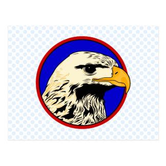 Ernest Eagle Postcard