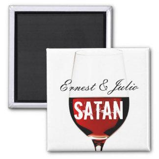 Ernest & Julio Satan Magnet
