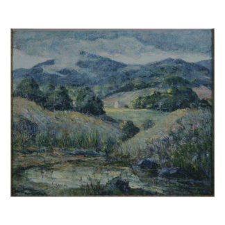 Ernest Lawson - Approaching Storm (Modified) Print