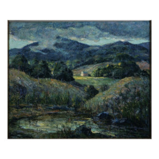 Ernest Lawson - Approaching Storm Poster