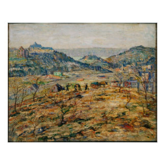 Ernest Lawson - City Suburbs Poster