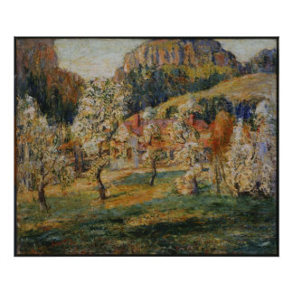 Ernest Lawson - May in the Mountains Print