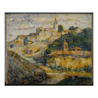 Ernest Lawson - Twilight in Spain Poster