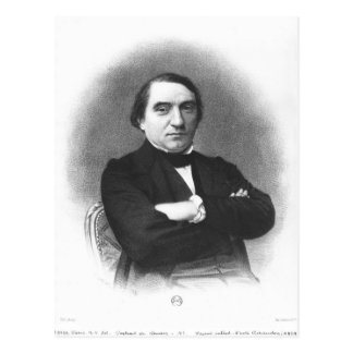Ernest Renan after a photograph by Pierre Postcard