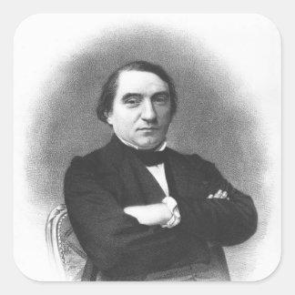 Ernest Renan después de una fotografía de Pedro Pegatina Cuadrada