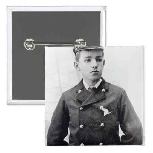 Ernest Shackleton Pinback Button