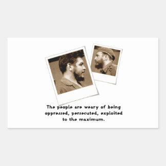 Ernesto Guevara & Fidel Sticker