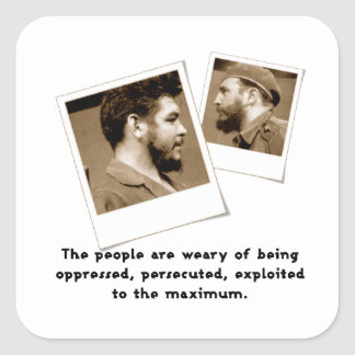 Ernesto Guevara & Fidel Stickers