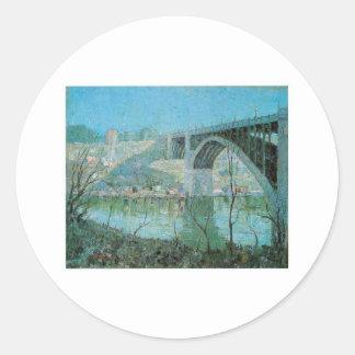 Ernesto Lawson, noche el río Harlem de la Pegatina Redonda