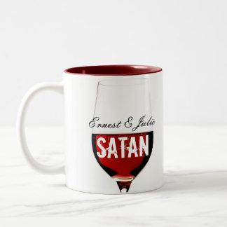 Ernesto y Julio Satan Tazas De Café