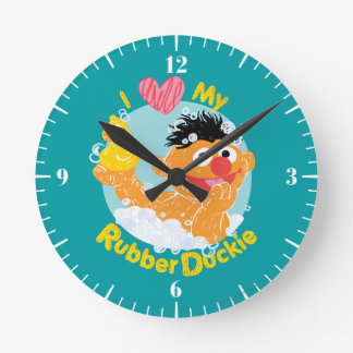 Ernie ama Duckie Reloj Redondo Mediano