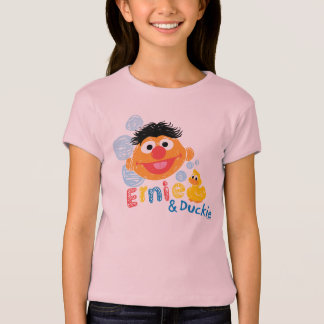 Ernie and Duckie Bubbles T-Shirt